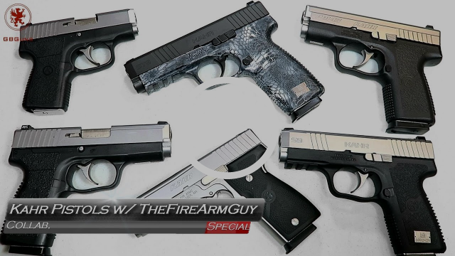 Kahr Pistols with TheFireArmGuy