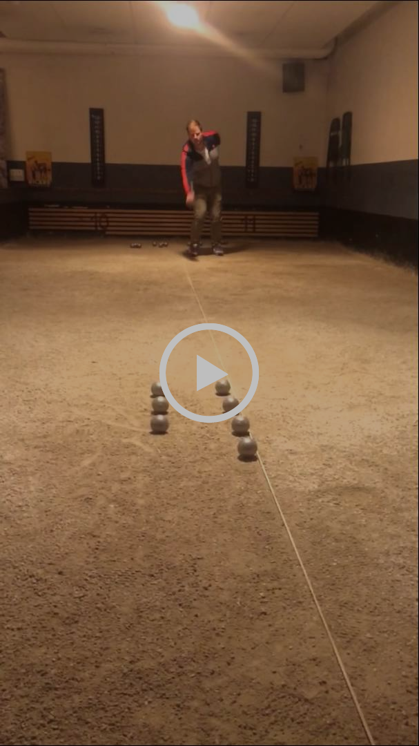 Robin Johansson training day and trickshots in Boule Petanq