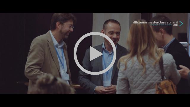 HRcomm masterclass summit 2016 – Emmanuel Gobillot in Slovakia