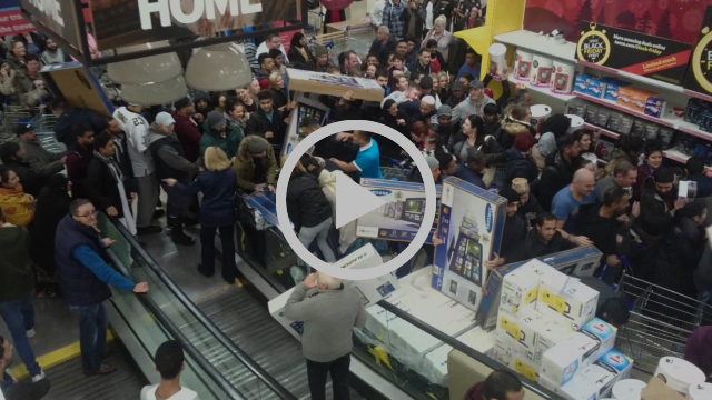 Black Friday - humans turn into monster!!!