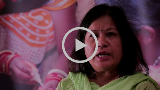 Dr Sulochana Shrestha from Central Biological Production Laboratory Nepal