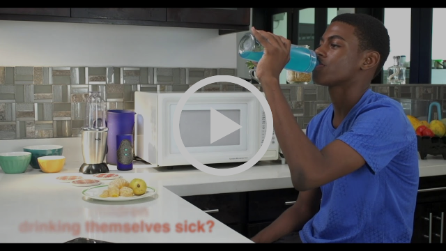 Are your children drinking themselves sick?
