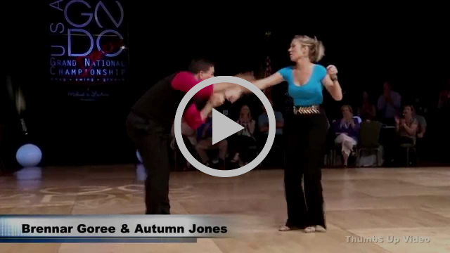 Brennar Goree and Autumn Jones Carolina Shag GNDC 2015
