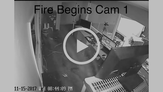 AMAZING VIDEO FOOTAGE OF DEADLY SMOKE IN THE UNITED WEST STUDIO!