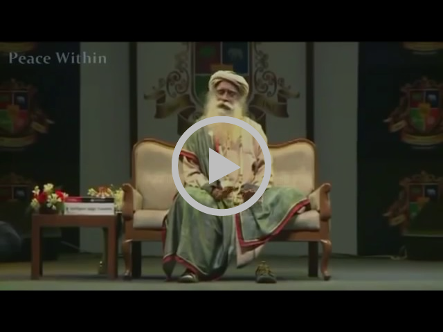 [You MUST see this] Sadhguru FIX YOURSELF FIRST