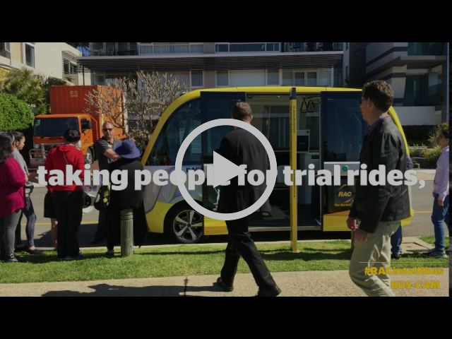RAC Intellibus™ | Australia's first driverless bus says thanks