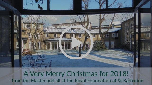 Yearly Christmas video from the Royal Foundation of St Katharine