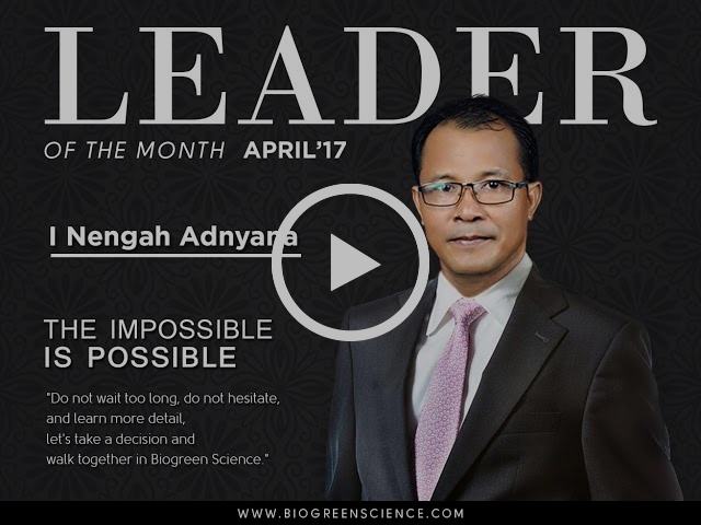 Leader of the Month -- The Impossible is Possible (April 2017 edition)