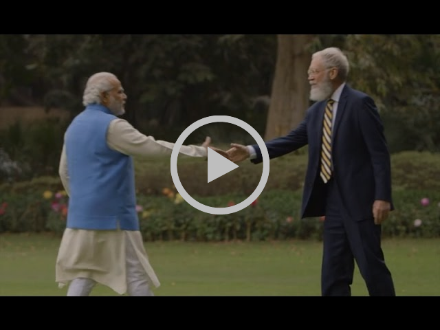 David Letterman Narendra Modi Interview