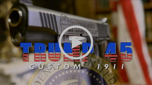 """Thompson """"Trump 45"""" Custom 1911"""