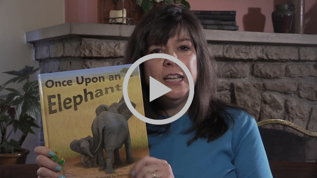 Author, Linda Stanek, tells the story behind the story on her new children's picture book Once Upon an Elephant