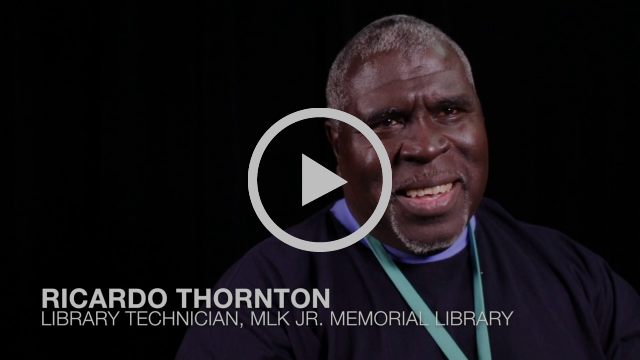 Ricardo Thornton - Share Your MLK Library Memories