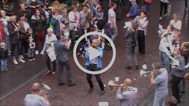 Flashmob Gelderse Poort