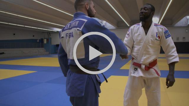 Judo France Darcel Yandzi Entry Technique