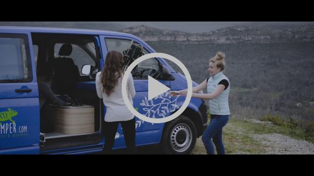 Gamme Otago pour 2-3 personnes partir à l'aVanture avec Freed'Home Camper