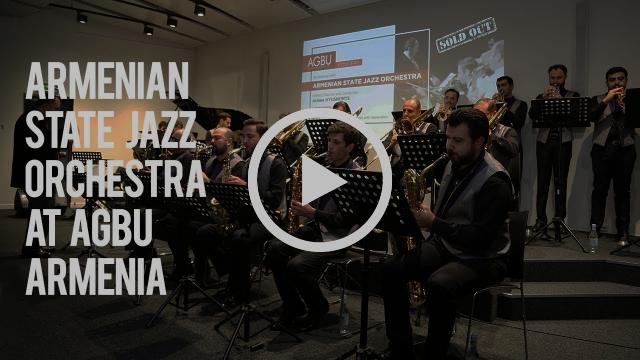 Armenian State Jazz Orchestra at AGBU Armenia