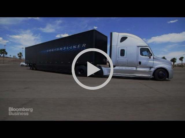 This is How a Driverless Truck Works