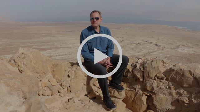 Base Camp Invite From Masada, Israel