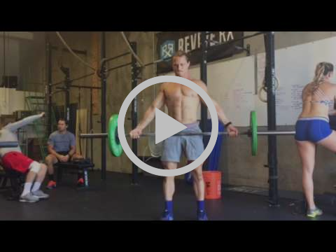 Supinated Grip Snatch Deadlift