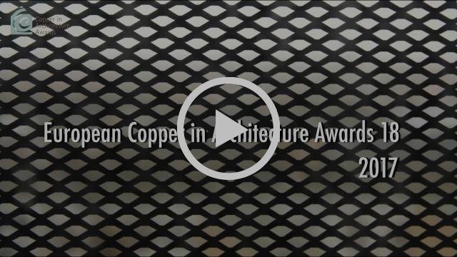 European Copper in Architecture Awards 18 - 2017