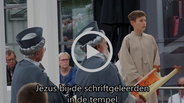 Virga Jesse-ommegang met audiodescriptie (Hasselt, 20 augustus 2017)
