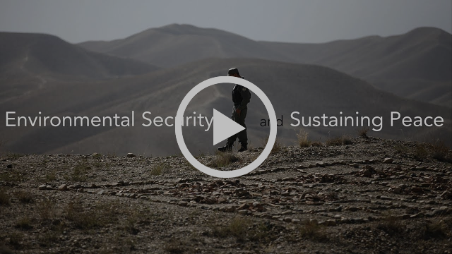 Environmental Security and Sustaining Peace – Trailer