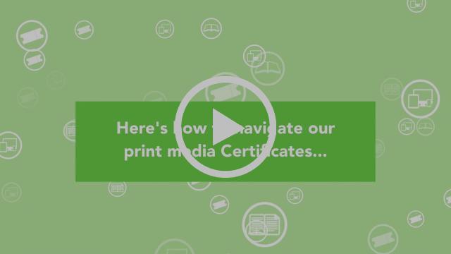 New ABC certificate walkthrough