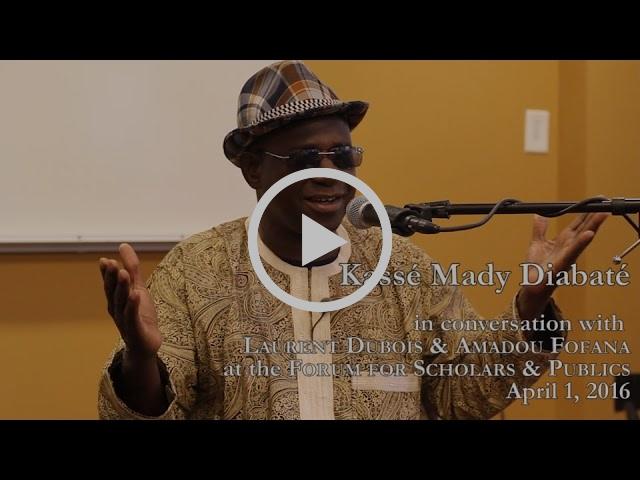 Talking Music: A Conversation with Kassé Mady Diabaté