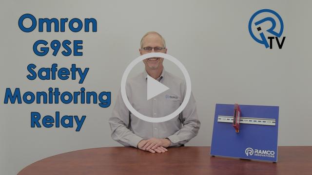 Omron G9SE Safety Monitoring Relay