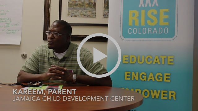 Kareem Oliver - Parent at Jamaica Child Development Center