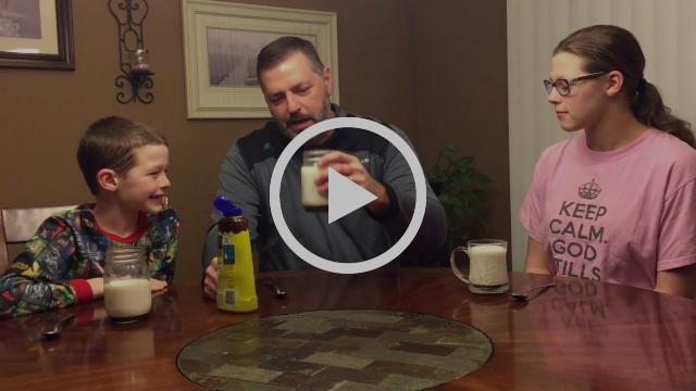 Chocolate Milk and the Holy Spirit
