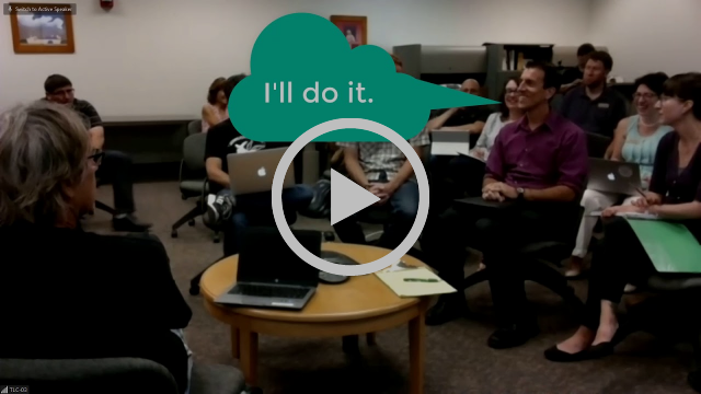 Video of DE teachers discussing the OEI course review