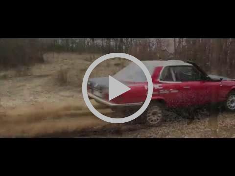 NAC Rally Team - Mercedes 350 SLC - testy