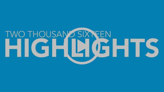 2016 Highlights Video