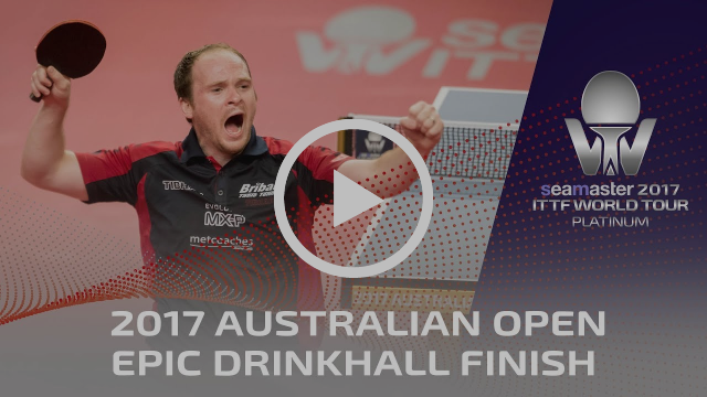 2017 Australian Open I Epic Drinkhall Finish