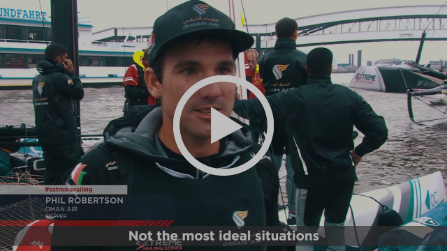2017 Extreme Sailing Series™ Act 5, Hamburg: Day two highlights