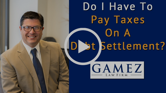 Do I Have To Pay Taxes On A Debt Settlement