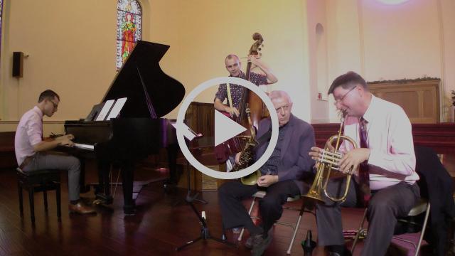 Joe Plowman with Silas Irvine, Larry McKenna, Danny Tobias