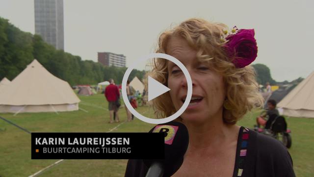 Buurtcamping Tilburg: Kamperen midden in de stad