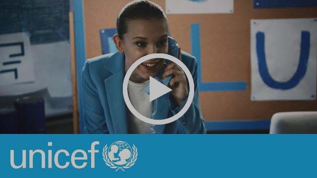 Go Blue on World Children's Day   UNICEF