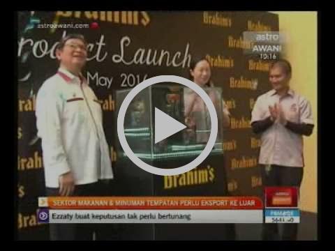 20160518 ASTRO AWANI T C 501 News BM 221547 I Brahim's New Product Launch