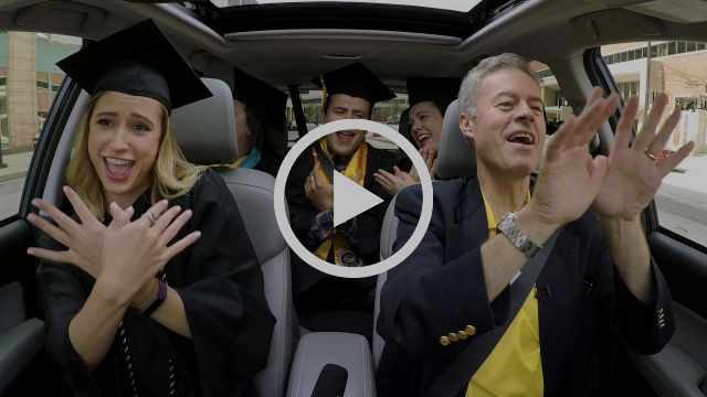 Carpool Karaoke - UW-Milwaukee Graduation Edition