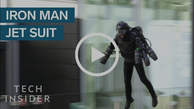 Real life jet suit