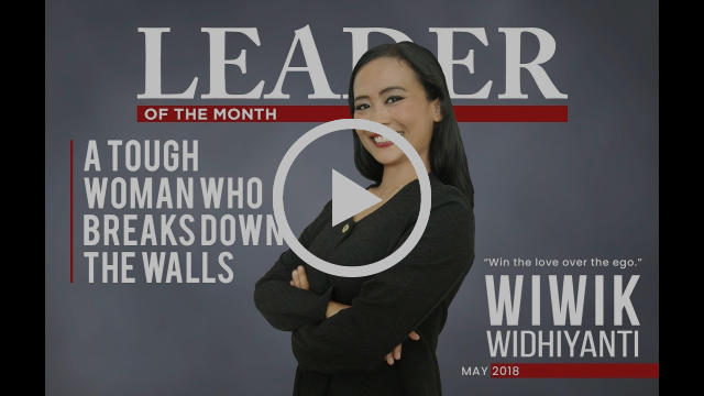 "Wiwik Whidiyanti -- ""A Tough Woman Who Breaksdown The Walls"" 