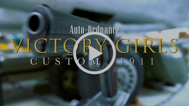 "Auto-Ordnance ""Victory Girls"" Custom 1911"