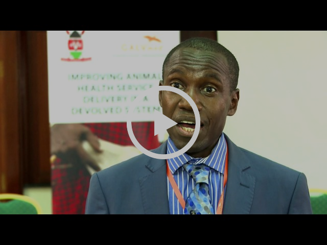 Dr Julius Kagamba - GALVmed's Manager for Policy & External Affairs