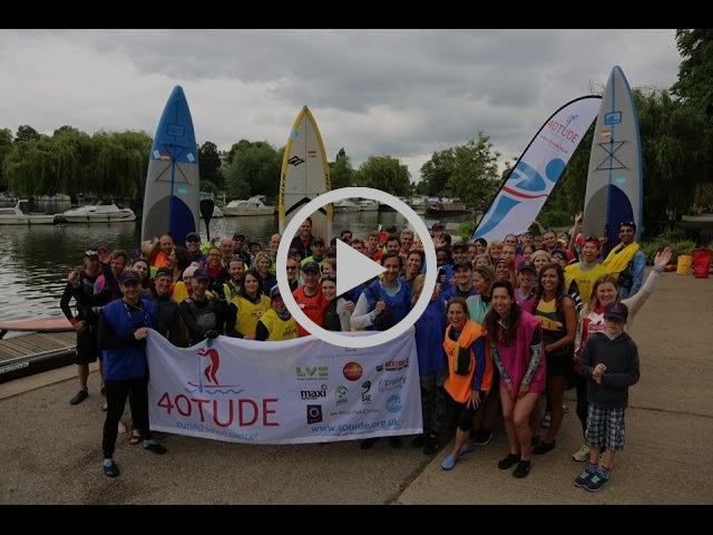 40tude's 2016 London SUP Marathon