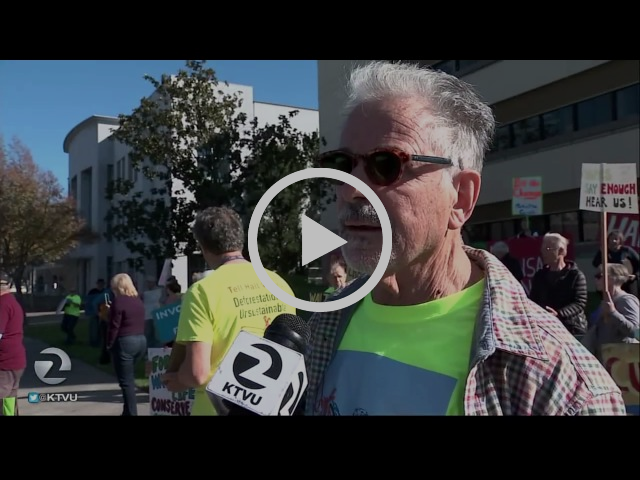 KTVU Channel 2 News reports:  Vineyard Battle 11/18/16