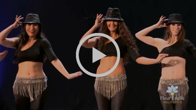 """""""Shimmy on Broadway"""" Belly-Fosse style by Fleur Estelle Dance Company"""