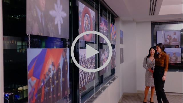 Artsakh-30: David Hakobyan's photo exhibition at AGBU HQ in New York